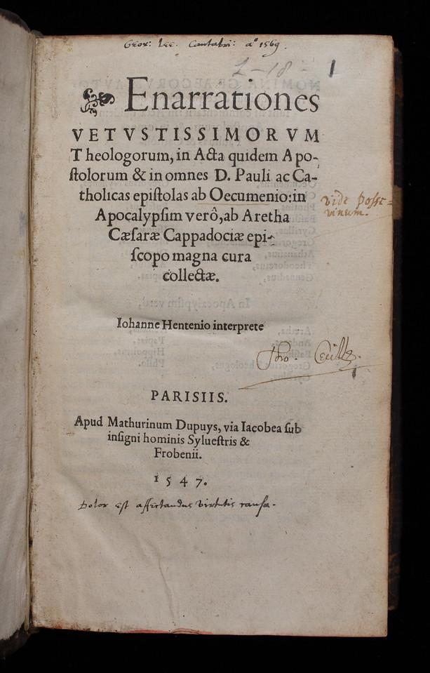 Inscriptions, 16th/17th centuries