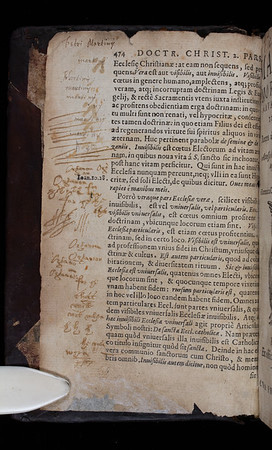 Annotations and printed waste, 16th century