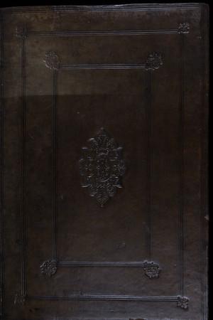 English (possibly Cambridge) calf binding, 16th century