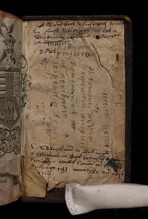 Notes, 16/17th century