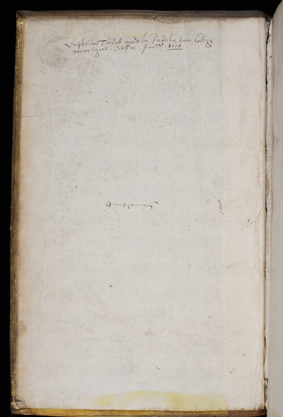 Donor inscription of Humphrey Tindall, 17th century