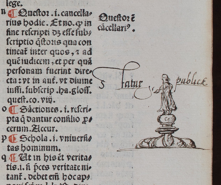 Drawing by Thomas Smith, 16th century