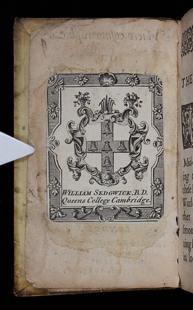 Armorial bookplate, 18th century