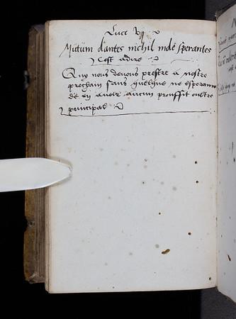 Inscriptions, 16th century