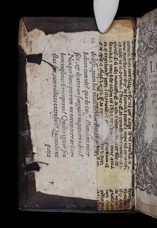 Printed waste and manuscript waste, 16th and 15th century