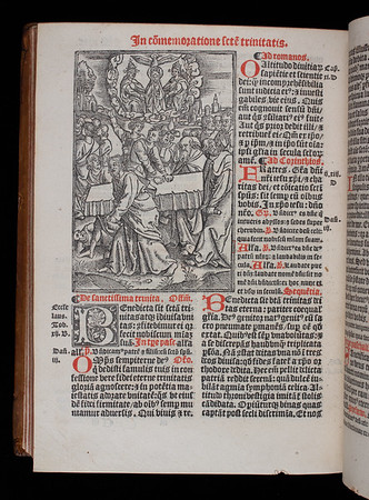 Author: Catholic Church Title: Missale ad vsum ecclesie Sarisburiensis [ Salisbury missal] (Paris, 1529) Shelfmark: H.6.24 (catalogue record)