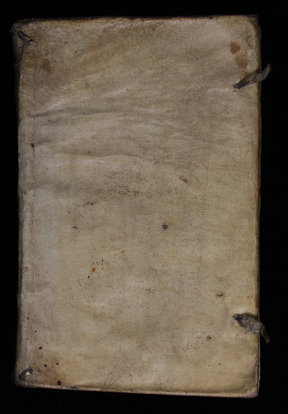 Limp vellum with evidence of ties, 17th century