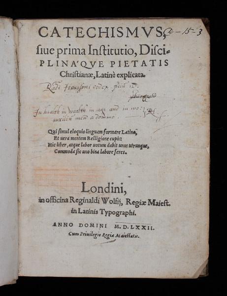 Inscription, 16th century (?)
