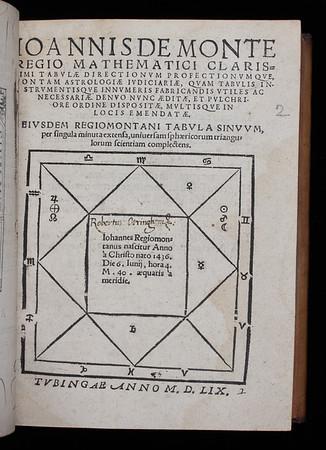 Inscription of Robert Otringham, 16th century