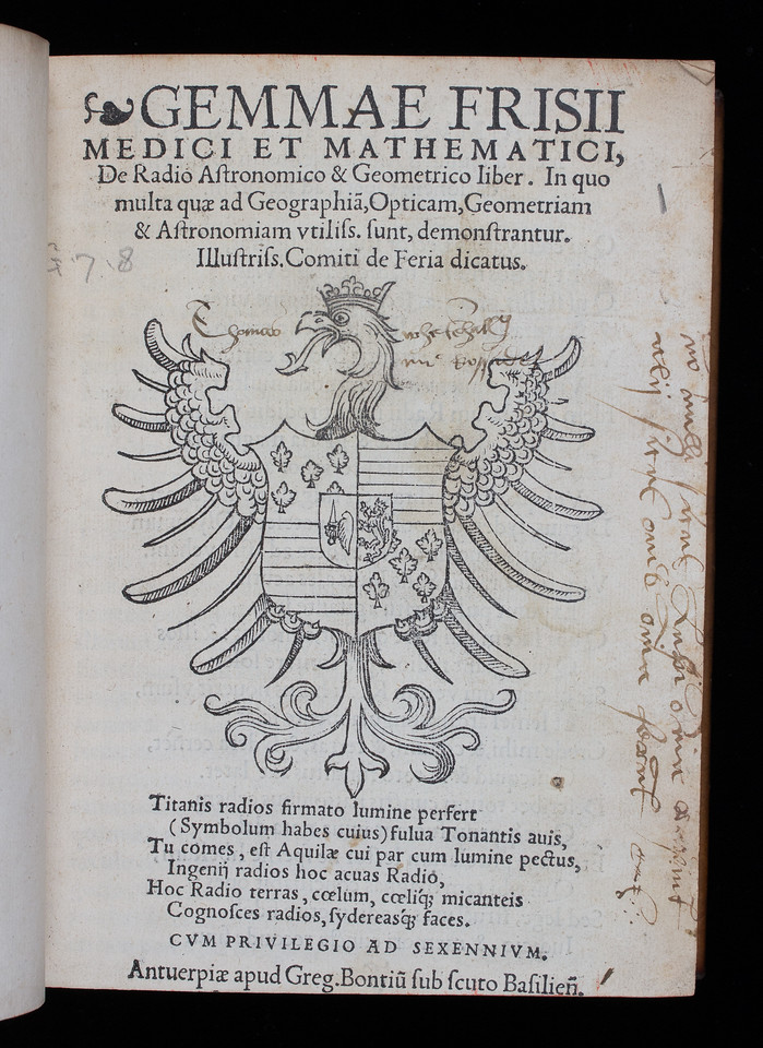 Annotation, 16th century.