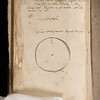 Annotations and doodle, 17th century