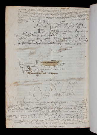 Annotations, 16/17th century