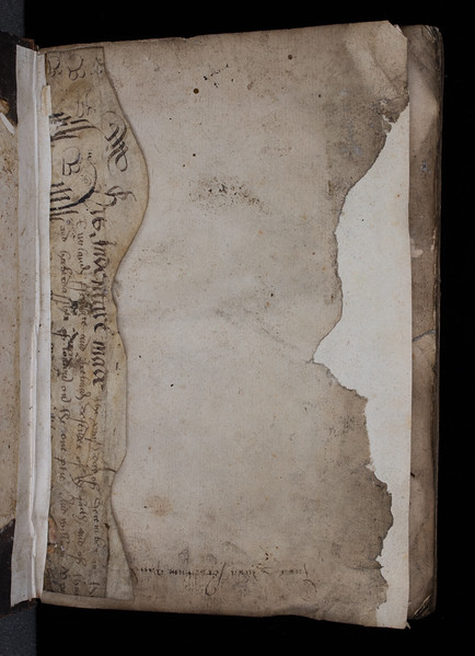 Manuscript waste, ?16th century