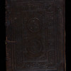 Panel-stamped calf binding, 16th century