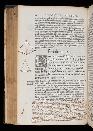 Annotations and diagrams, 17th century