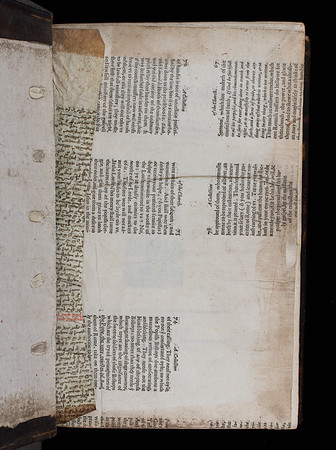 Printed waste, 16th century and manuscript waste