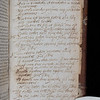 Manuscript copy of missing page, 16th century