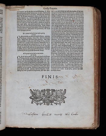 Ownershipinscription, 17th century
