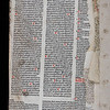Printed waste, 16th century and manuscript waste, possibly 15th century