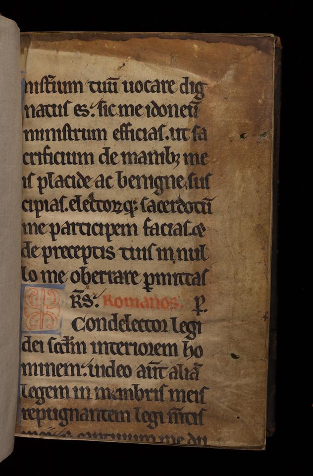 14th century manuscript waste