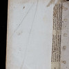 Manuscript waste, 16th century