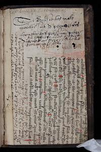 Manuscript waste, 15th century.