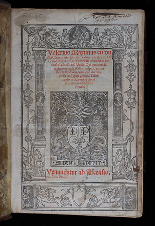 Ownership inscription, 16/17th century