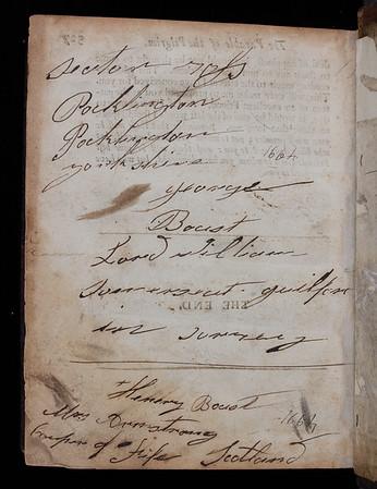 Name inscription