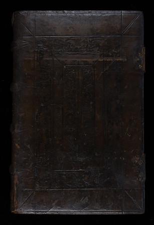 English (Cambridge) binding by Nicholas Spierinck, 16th century