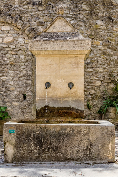 Old Town Water Supply, Vaison-la-Romaine