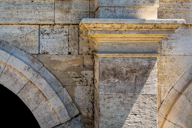Roman Ampitheater Detail, Arles