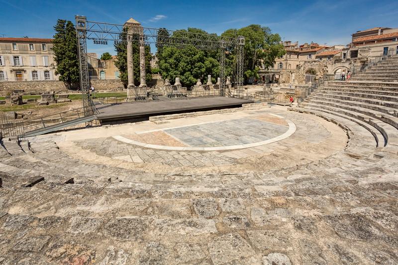 Roman Ampthearter, Arles