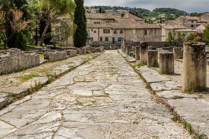 Main Street 100 AD, Vaison-la-Romaine