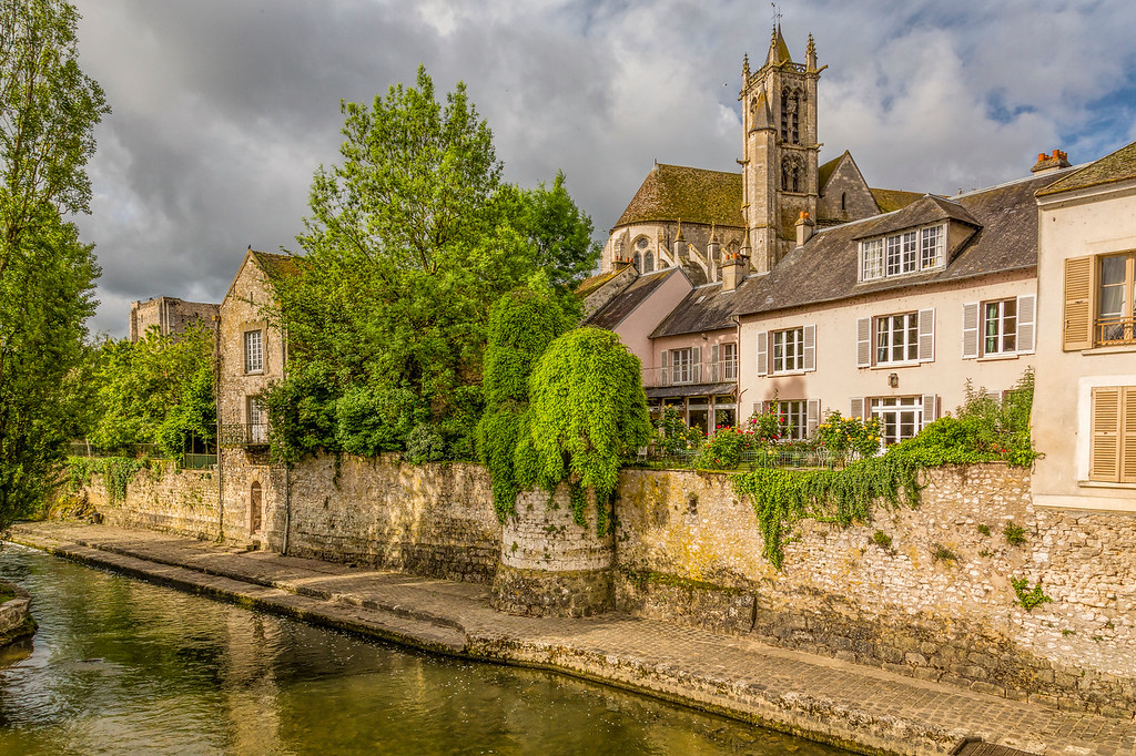 View from the Bridge, Moret-sur-Loing