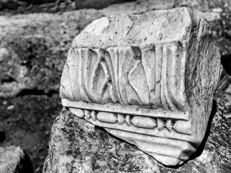 Carved Marble, Arles Roman Ampitheater