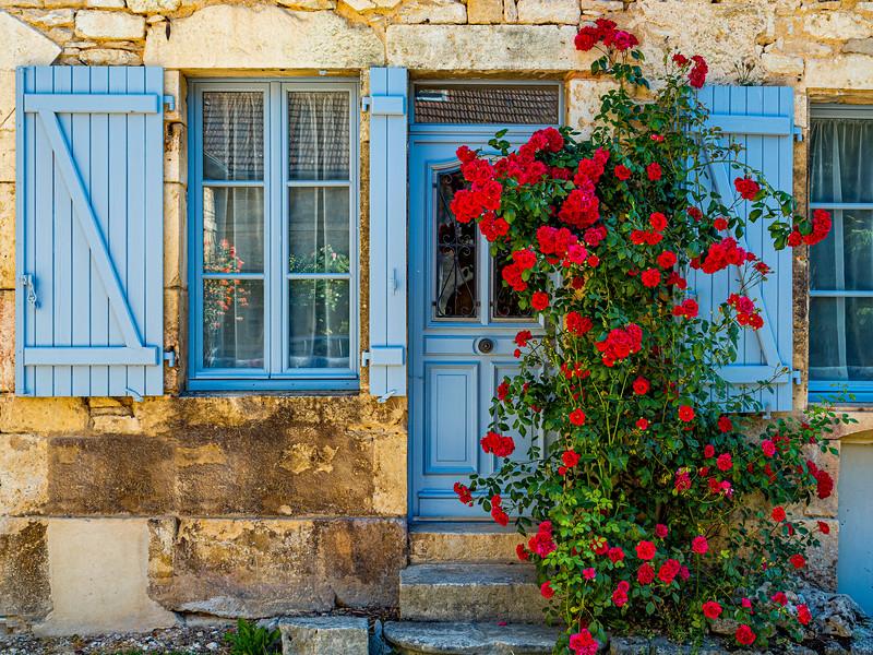 Cottage Roses, Flivangy, France