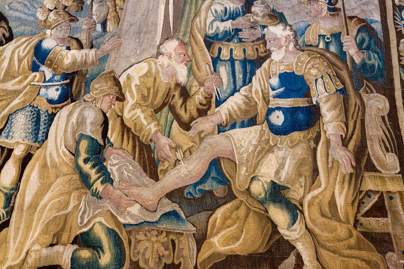 Tapestry Detail, St. Trophime Church, Arles