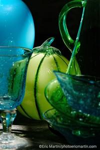FRANCE. LA PROVENCE. Cristallerie d'art Alban Gaillard à Saint-Rémy-de-Provence