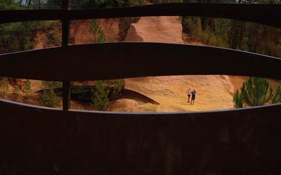 Ochre quarry