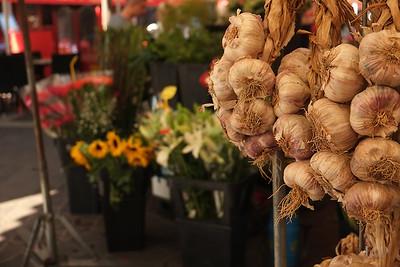Garlic, Mediterranean Market, Nice