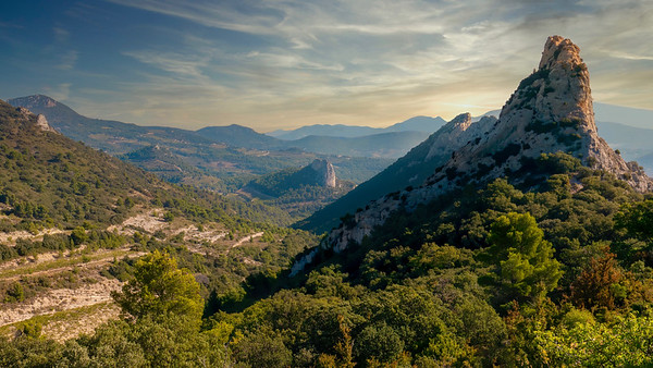 Les Dentelles, France.