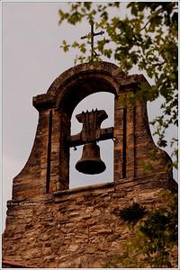 Church bell in Crillon Le Brave.
