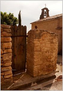 Crillon Le Brave... gated grounds.