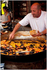 The Paella man.