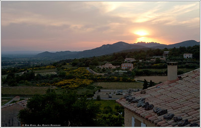 """Crillon Le Brave at Sunset"""