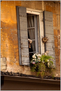 """Street scenes in St. Remy  """"All of us tend to put off living. We are all dreaming of some magical rose garden over the horizon - instead of enjoying the roses that are blooming outside our windows today.""""  --Dale Carnegie"""