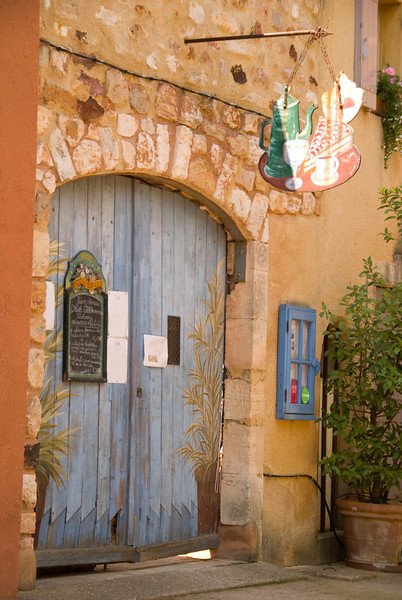 Restaurant in Roussillon