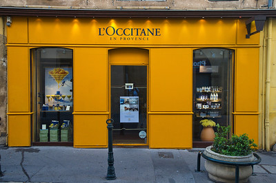 This company, L'Occitane, is found throughout France and even in Houston, Texas.  They sell personal care products made from Provence herbs and flowers.