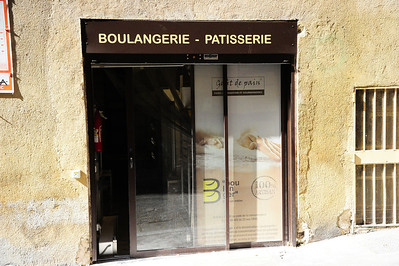 A small boulangerie-patisserie in Aix en Provence