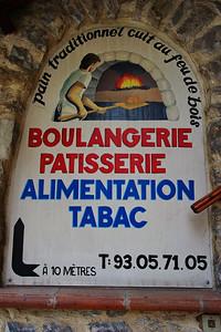 Touret sur Var Boulangerie Sign